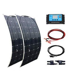 ¿Qué es un panel solar flexible?